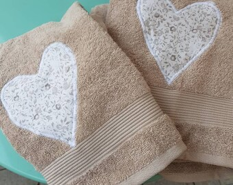 Towels with Heart