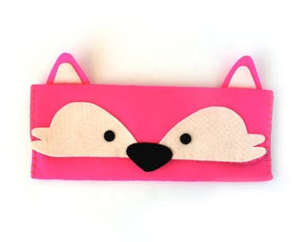 Fox Long Pouch