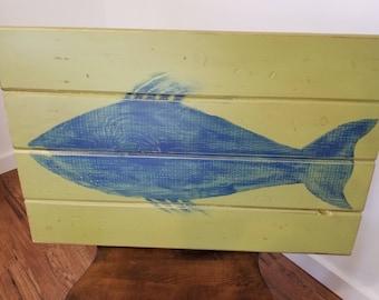 Modeled Blue Fish