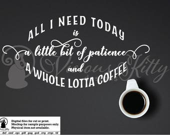 Coffee saying svg, coffee sign svg, coffee lover sign, ai dxf emf eps pdf png psd svg svgz tif files, cricut, silhouette, brother