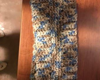 hand crocheted headband ear warmer winter wear
