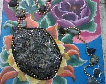 Meteorite Achondrite handmade art / 1 250gr / 100% natural