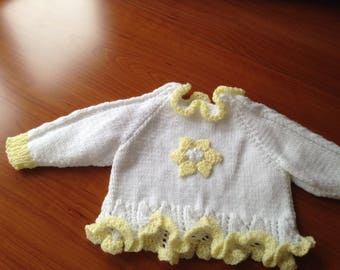 Top/ angel top / jumper for 3-6 month baby girl