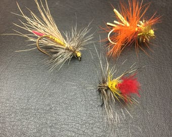 Multi Colored Flies Size 8 and 14