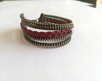 Zipper Bracelet - Unique Jewelry