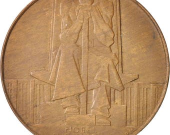 united kingdom  token great-britain 1925 au(50-53) bronze