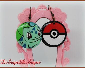 Pokemon BULBASAUR Earrings
