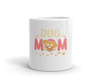 Dog Mom Coffe Mug