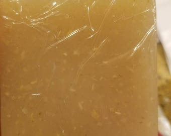 Exfoliating Oatmeal Honey soap