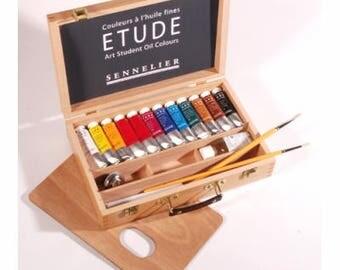 Sennelier oil painting box