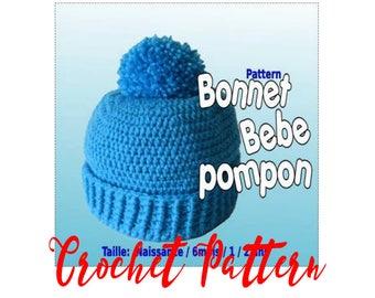 Tutorial Pompom baby Hat