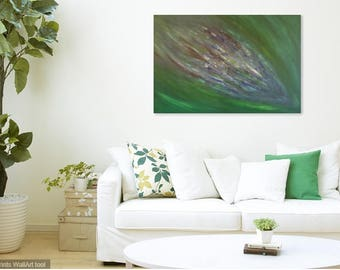 Cocooned original abstract acrylic canvas painting