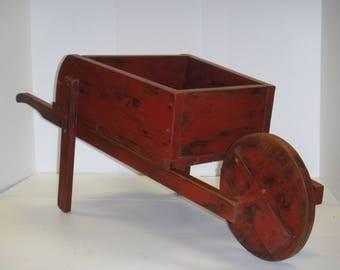 Rustic Decorative Wheelbarrow Planter