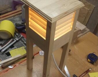 Bespoke Louvred Lamp