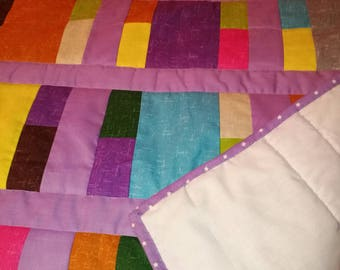 Handmade quilt . Baby /childs/ lap / bed topper