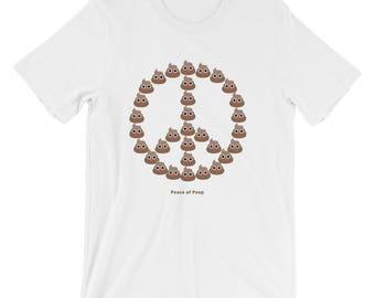Peace of Poop Emoji T-Shirt