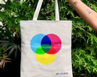 Tote Bag with Zippers