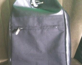 shoulder bag / backpack faux leather