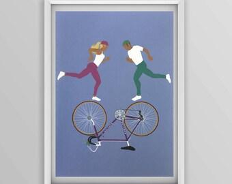 Mercier Bicycle print no1