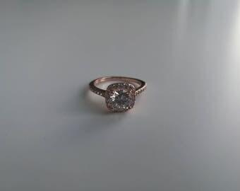 Copper zirconium ring