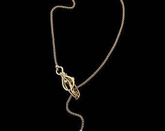 "Gold bracelet ""Queen of Spades"""