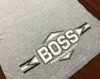 Vintage Hugo Boss T-Shirt size L 2-side