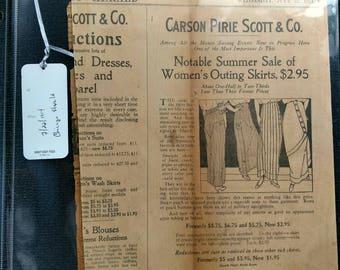 Vintage newspaper articles 1914