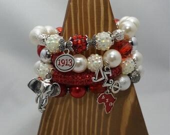 Sorority Bracelet Stacks-DST