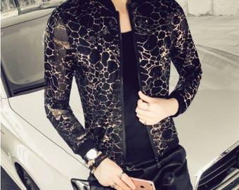 Leopard Print Spring Summer Jacket