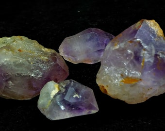 270.20 CT Unheated & Natural Purple Amethyst Rough Stone Lot