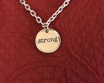 Strong necklace