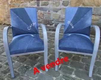 Pair of armchairs bridges