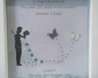 Wedding frame anniversary gift