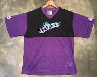 Vintage 90s Utah Jazz Starter Net Jersey
