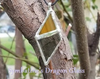 The Trapezoid- pendant only