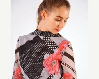 ON SALE Ein Fink Modell - Retro long dress