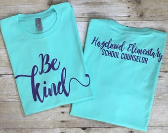 Be Kind Curly Tee