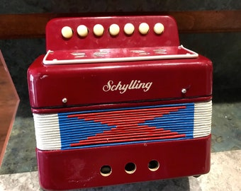 Vintage Schyling Accordion