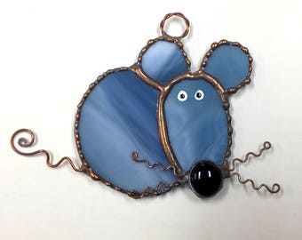 Stained Glass Mouse