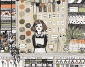 The Notions Shop - 8 x 10 Print