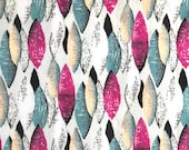 Atomic dress fabric 50s style reproduction