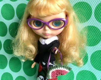 Blythe Doll Colour Me Fruity Set - Black