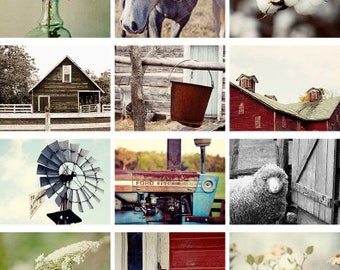 rustic wall calendar, 2018 calendar rustic photography, country, farm, barns, rustic decor calendar, 2018 wall calendar