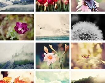 2018 wall calendar, 2018 calendar nature calendar, fine art nature photography, landscape, flower , animal photographs