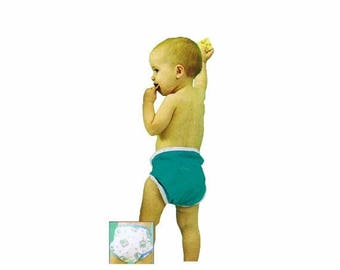 SALE Snap Happy Diaper Covers Sew Baby F704 Sewing Pattern Size Extra Small - Small - Medium - Large - Extra Large Uncut