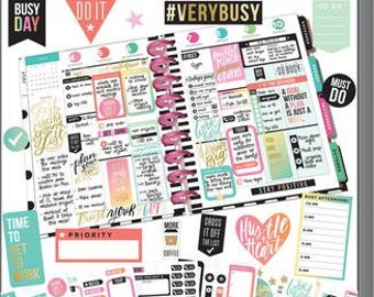 Create 365™ The Happy Planner™ Fitness Value Pack Stickers  Productivity 985