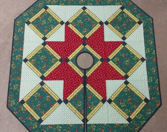 Heritage Valley Christmas Tree Skirt Quilt