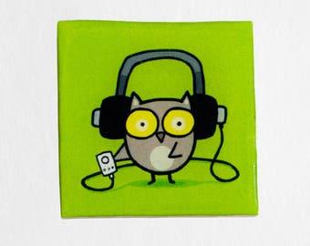 Owlie Music Headphones Magnet