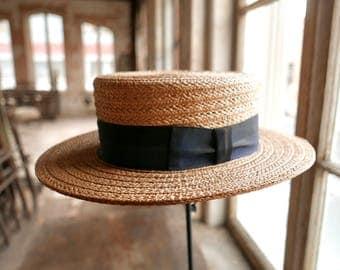 Royal Stetson Boater Hat Size 7