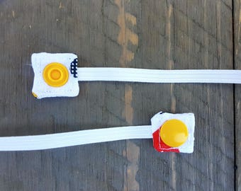 Replacement Snap-On Elastic for Nebulizer Head Straps (Mickey Mouse)